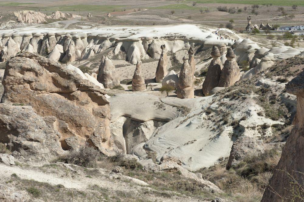 Cheminées de fées en cappadoce