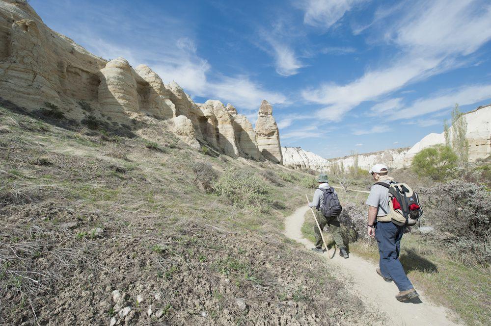 Vallée blanche en Cappadoce Turquie