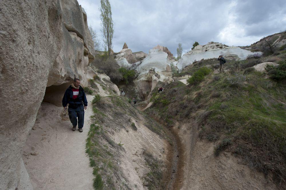 Cappadoce Les vallées rouge et rose