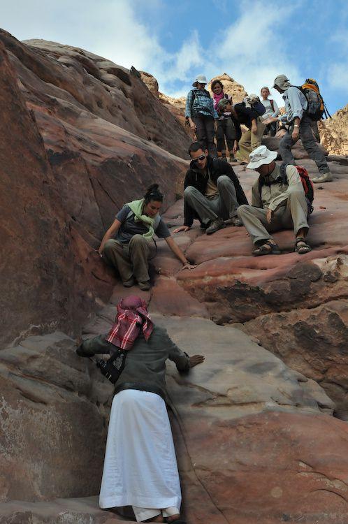 L'ascension du point culminant de jordanie : le djebel Umm Aadami