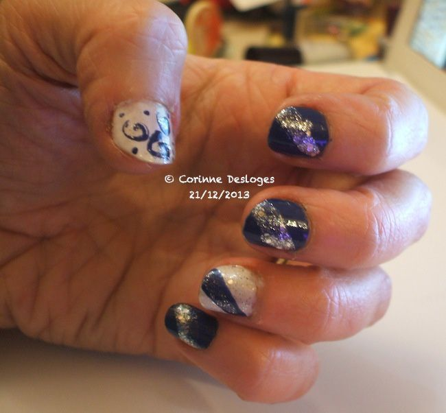 nailArt feerie hivernale1