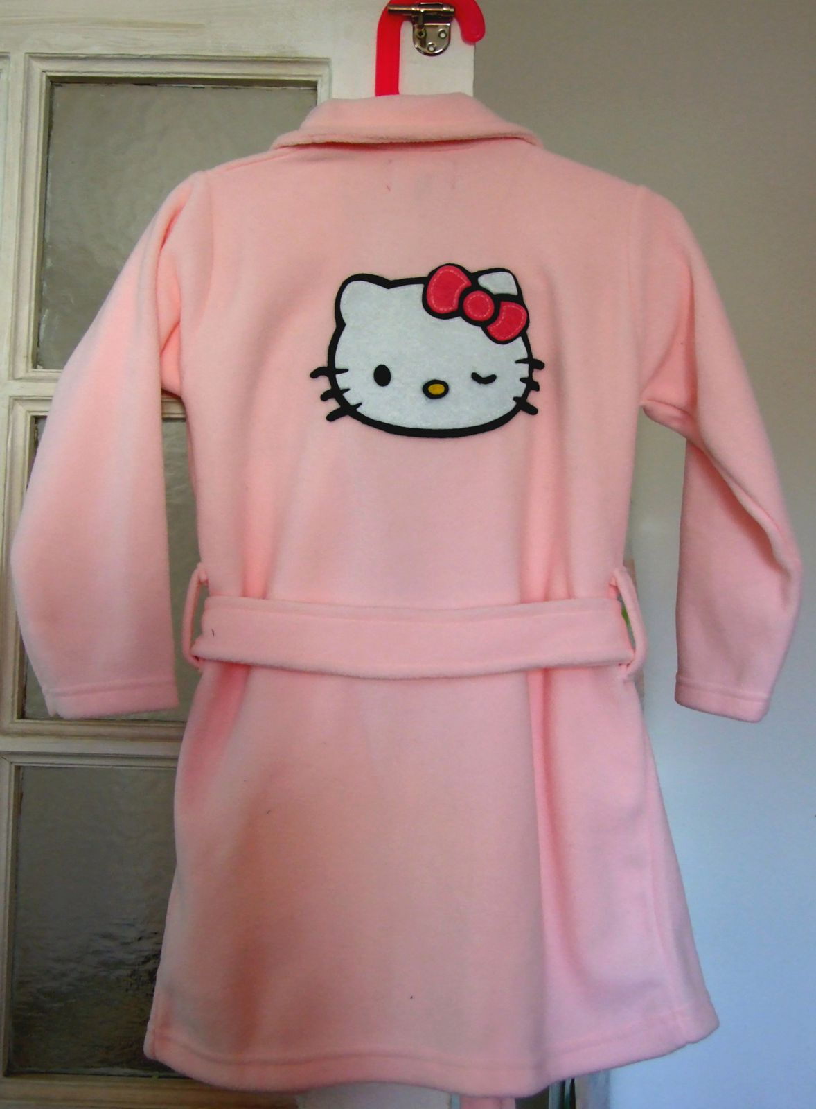 Robe de chambre hello kitty ma m 39 zelle panpan - Robe de chambre hello kitty ...