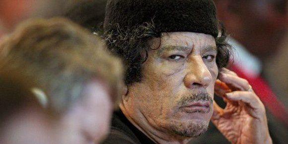 Kadhafi en fuite