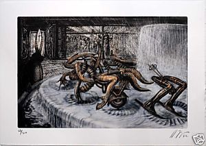 giger lithographie 1992