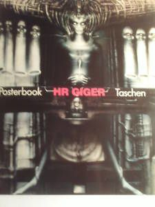 giger posterbook taken