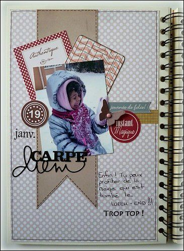 LOVE SCRAP 2013.02 Sketch C&S + 2013.02 page theme petits p