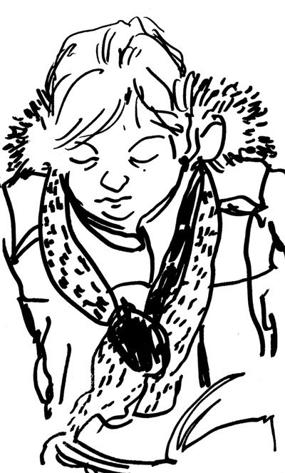 femme froid