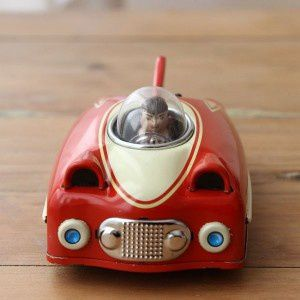 voiture-a-friction-future-car-vintage-rouge-shylling