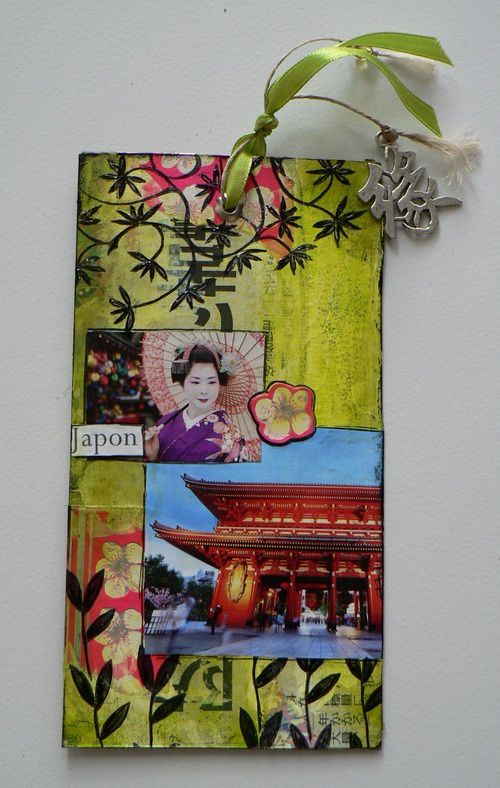 MAil art japon détail 3