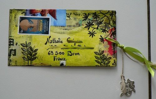 MAil art japon détail 6