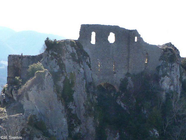 Chateau de Roquefixade 55