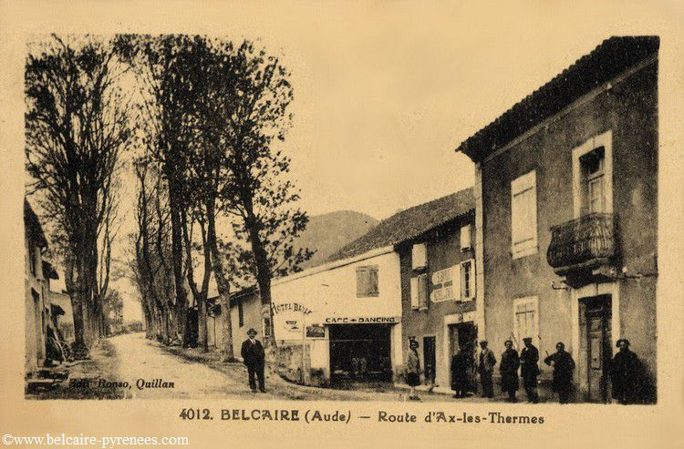 Belcaire hotel Bayle vers 1925