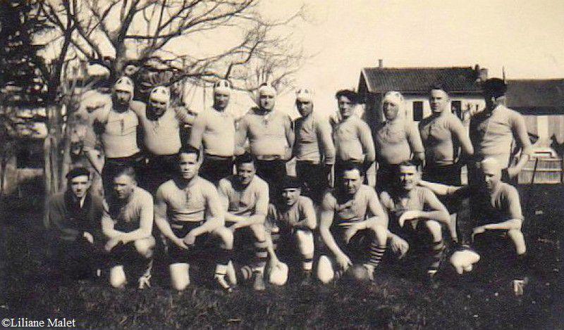 Rugby a Belcaire en 1937