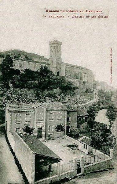 Belcaire photo ancienne 01 en 1910