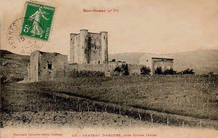 Chateau d'Arques en 1900