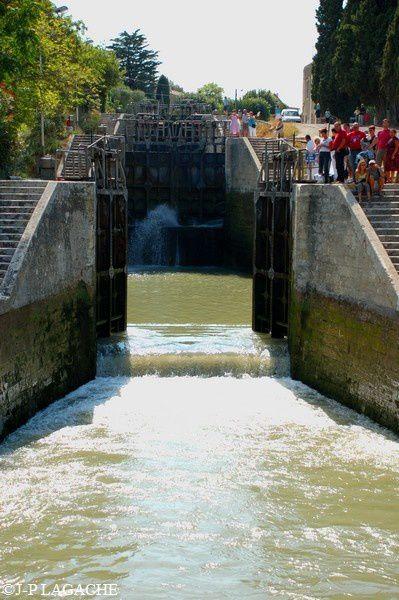 canal du Midi écluses de Fonsérannes 016