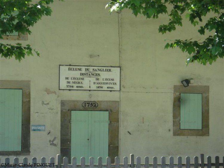 Canal du Midi écluse du sanglier 05