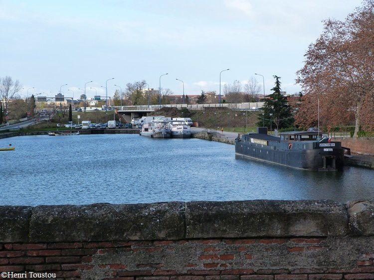 canal du midi port de l'embouchure à toulouse bassin 1
