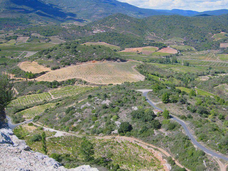 Chateau d'Aguilar 05 panorama NE