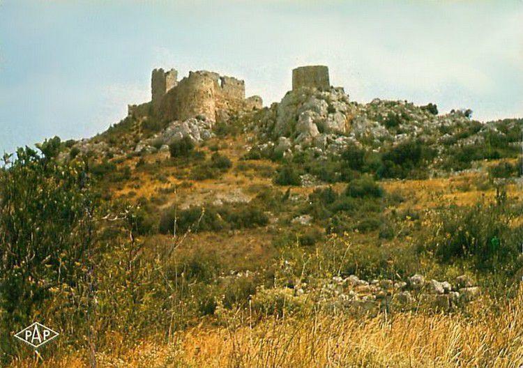 Chateau d'Aguilar 202 carte postale