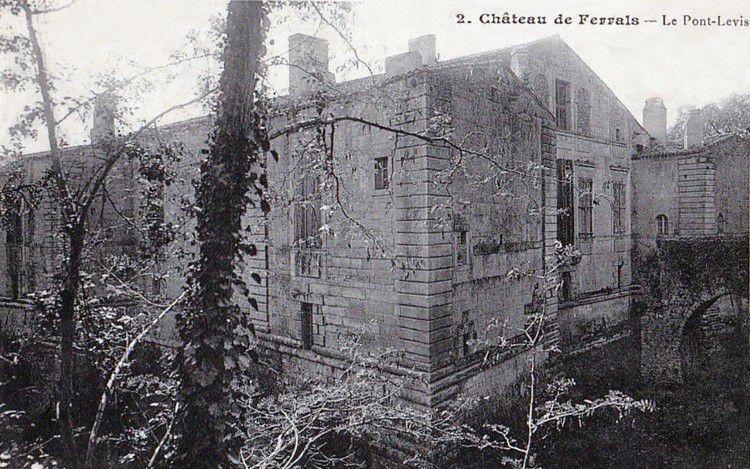 chateau de Ferrals ancien 07 en 1905