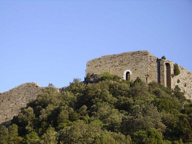 château de Termes angle Nord Ouest