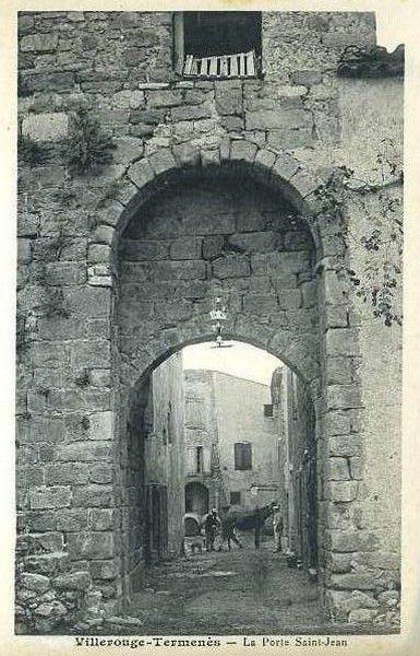 carte postale villerouge-termenès 08 en 1910