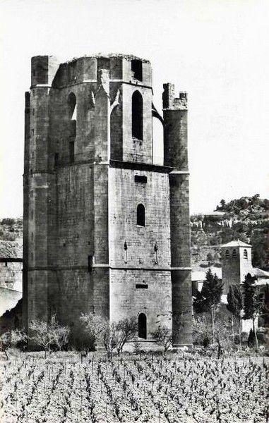 lagrasse 31 en 1950 tour charlemagne