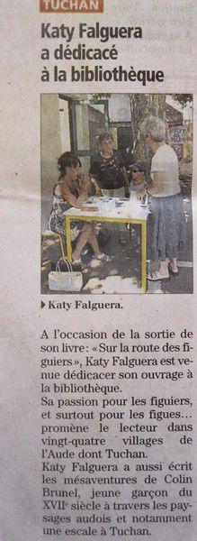 Kathy Falguera romanciere 313 A 8 juillet 2013