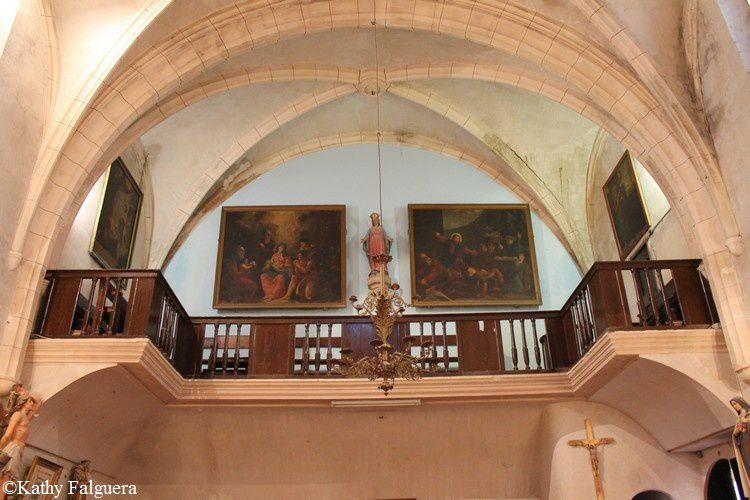 Mirepeisset 106 eglise balcon
