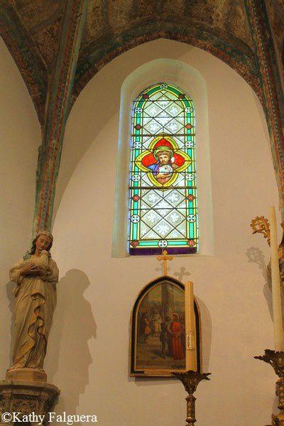 Mirepeisset 130 eglise vitrail