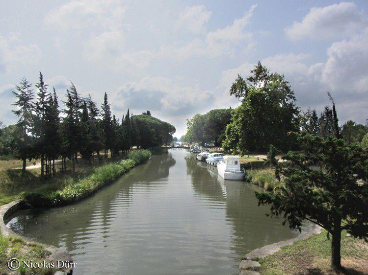 Mirepeisset 092 le Canal de Jonction au départ du Canal du