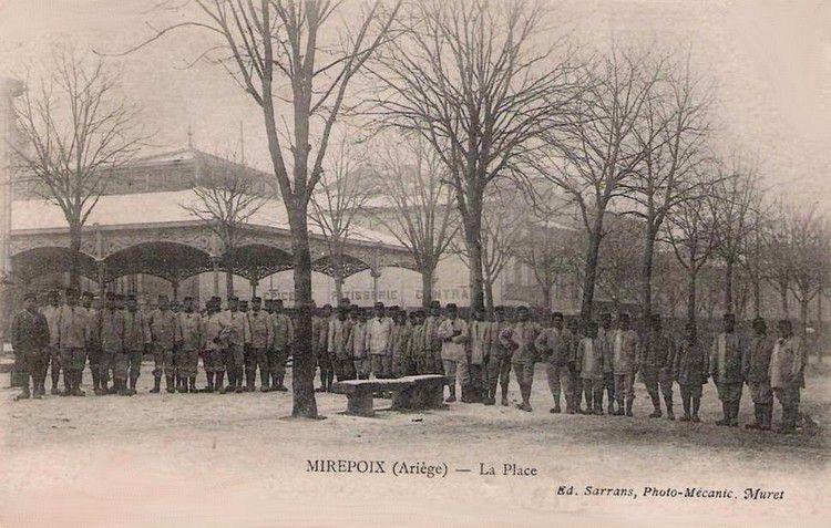 Mirepoix ancien 17 en 1915