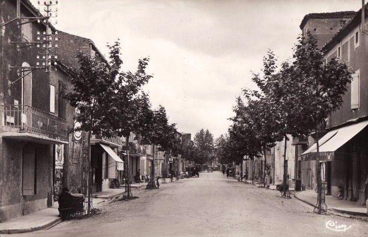 Mirepoix ancien 30 cours pons tande en 1935