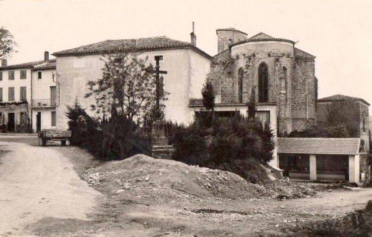 Pieusse photo ancienne 02 en 1950