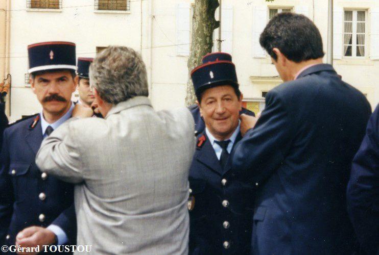 année 99 remise de la fourragère à Castelnaudary photo n
