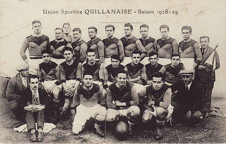 Rugby l'US QUILLAN 1928-1929