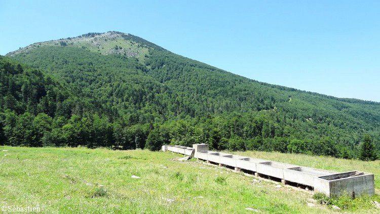 10 L'abreuvoir du Col de Tourrugue et l' Ourtiset