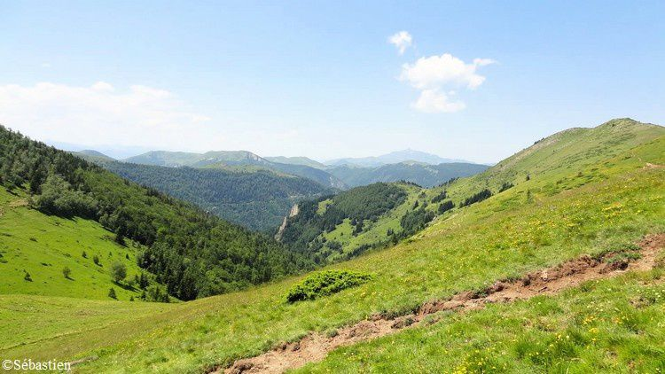 24 Vue du Col de Seillis vers l'Ouest