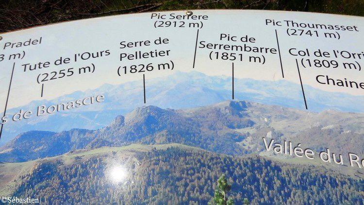 44 Le Col du Pradel (pour redescendre sur Ax-les-T