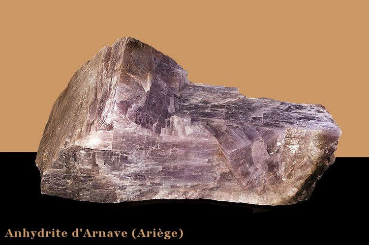 Anhydrite d'Arnave