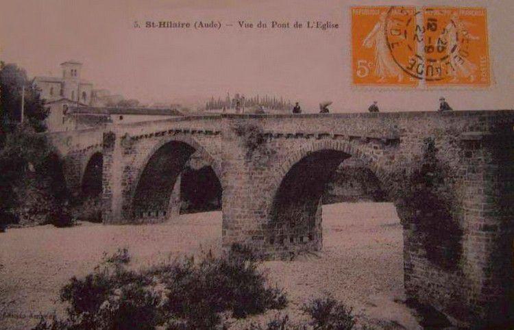 Ancienne photo de Saint Hilaire 1920
