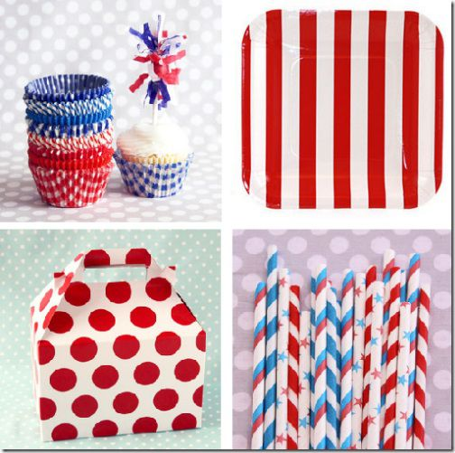 cute july 4th party supplies paper goods thumb[3]