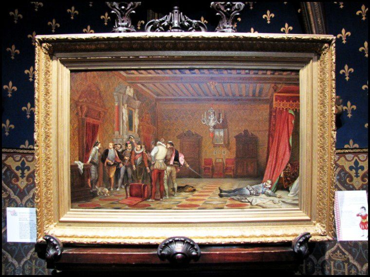 l 39 assassinat du duc de guise tableau de paul delaroche atelier le blog de cbx41. Black Bedroom Furniture Sets. Home Design Ideas