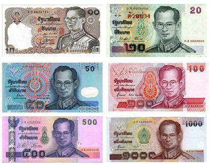 billet de banque thailande
