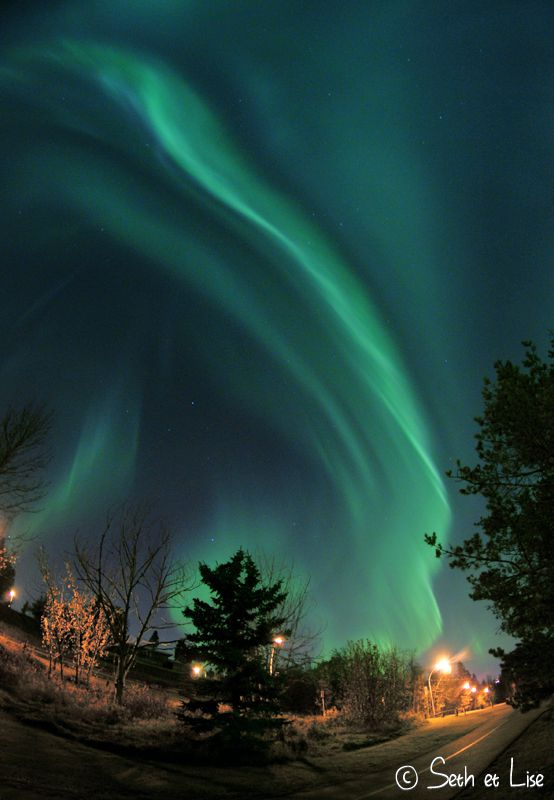blog voyage canada pvt photo aurore boreale northern light how to