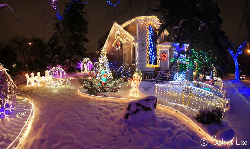 blog canada voyage noel christmas deco kitsch xmas edmonton light illumination