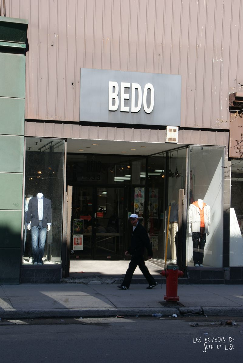 blog voyage canada pvt montreal magasin bedo rue