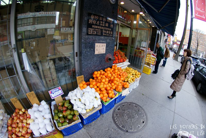 blog voyage canada pvt montreal magasin fruits chinatown