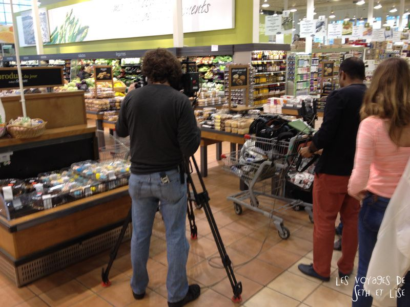 blog voyage tour du monde pvt whv backpacker canada montreal tournage film design provigo magasin shopping insolite